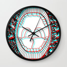 Hyalophobia Wall Clock