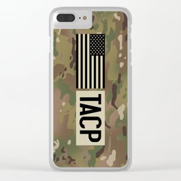 TACP (Camo) Clear iPhone Case