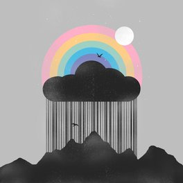 Metal Travel Mug - Beyond the Rain - Norman Duenas