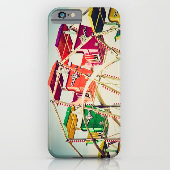 Colorful Ferris Wheel Cars iPhone & iPod Case