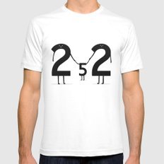 2 + 2 = 5 Mens Fitted Tee SMALL White