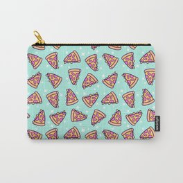 Pizza Magic // Green Carry-All Pouch
