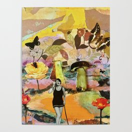 Surreal Summer Dreaming Poster
