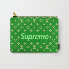 supreme x lv green Carry-All Pouch