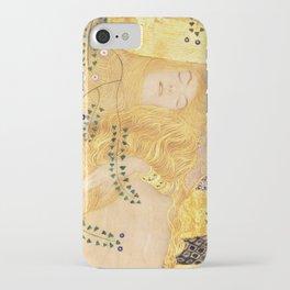Water Serpents - Gustav Klimt iPhone Case
