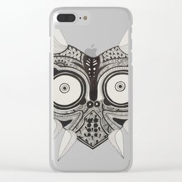Majoras Mask Clear iPhone Case