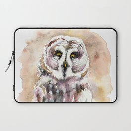 Gary The Great Gray Owl Laptop Sleeve