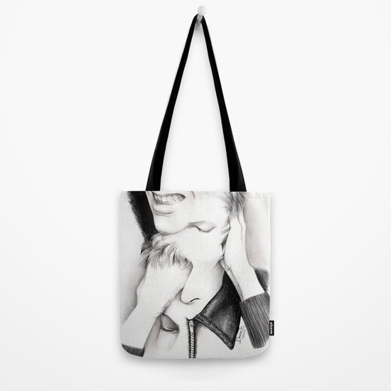 DECONSTRUCTION OF DAVID BOWIE  Tote Bag