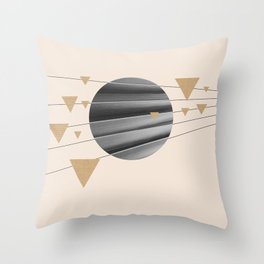 Abstract Composition 04 Throw Pillow