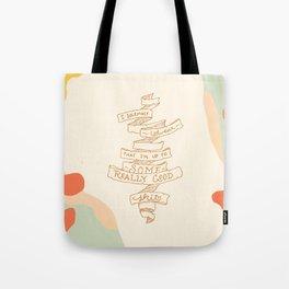 I Solemnly Swear Good Sh#t —Puff Tote Bag