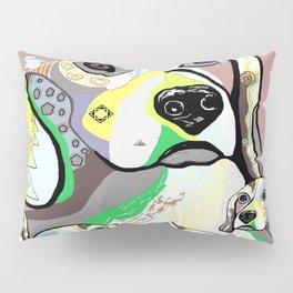 Beagle and Babies Soft Color Palette Pillow Sham
