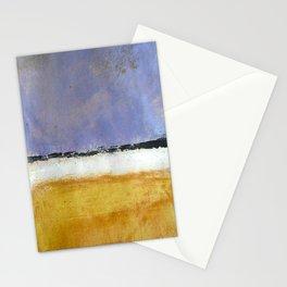 Mark Rothko Interpretation Acrylics On Paper Stationery Cards