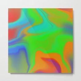 Hurricane Glow Metal Print
