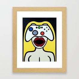 Controlher Framed Art Print