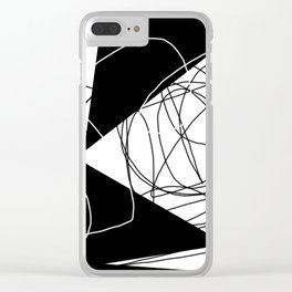 When Gladys Goes to Town Clear iPhone Case