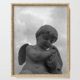 Angel in Contemplation Serving Tray