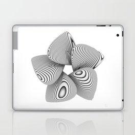 Bio Flower Art Print Laptop & iPad Skin