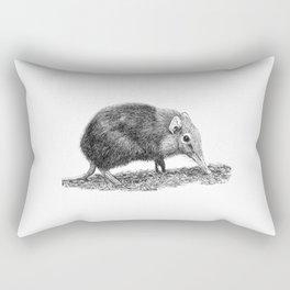 Black Shrew Rectangular Pillow