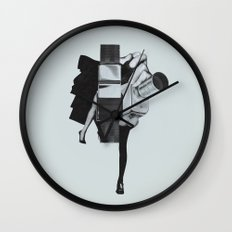 Wisconsin Avenue Wall Clock