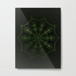 green sun Metal Print