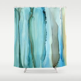 Dance With Me - Green 2016 Shower Curtain