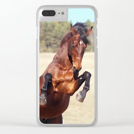 horse collection. Trakehner Clear iPhone Case