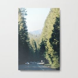 The Road to Washington Metal Print