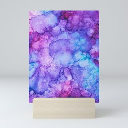 Hydranga Hue Ink  Mini Art Print
