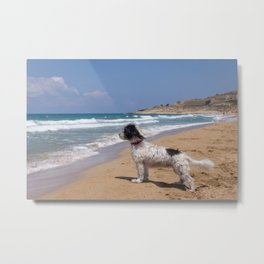 I Am Waiting Metal Print