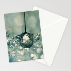 Sea Grey Drop Stationery Cards
