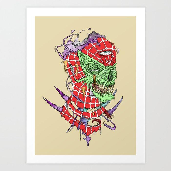 Zombie Sense Art Print