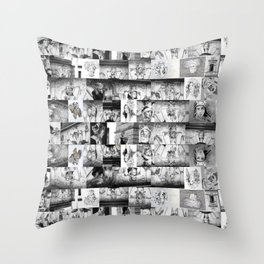 B&W Indomitable Sentry Throw Pillow