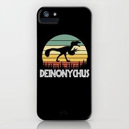 Deinonychus iPhone Case