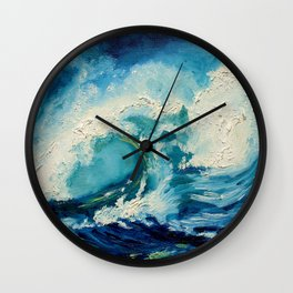 Ocean Wall Clock