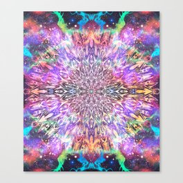 Centaurus Cosmic Mandala Canvas Print