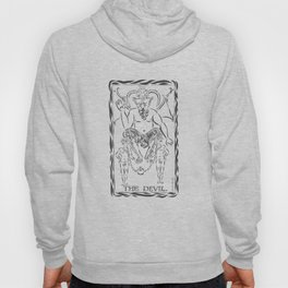 THE DEVIL WITH TWO MEN Hoody
