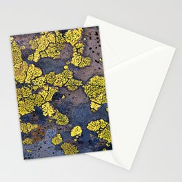 Lichen Abstract Stationery Cards