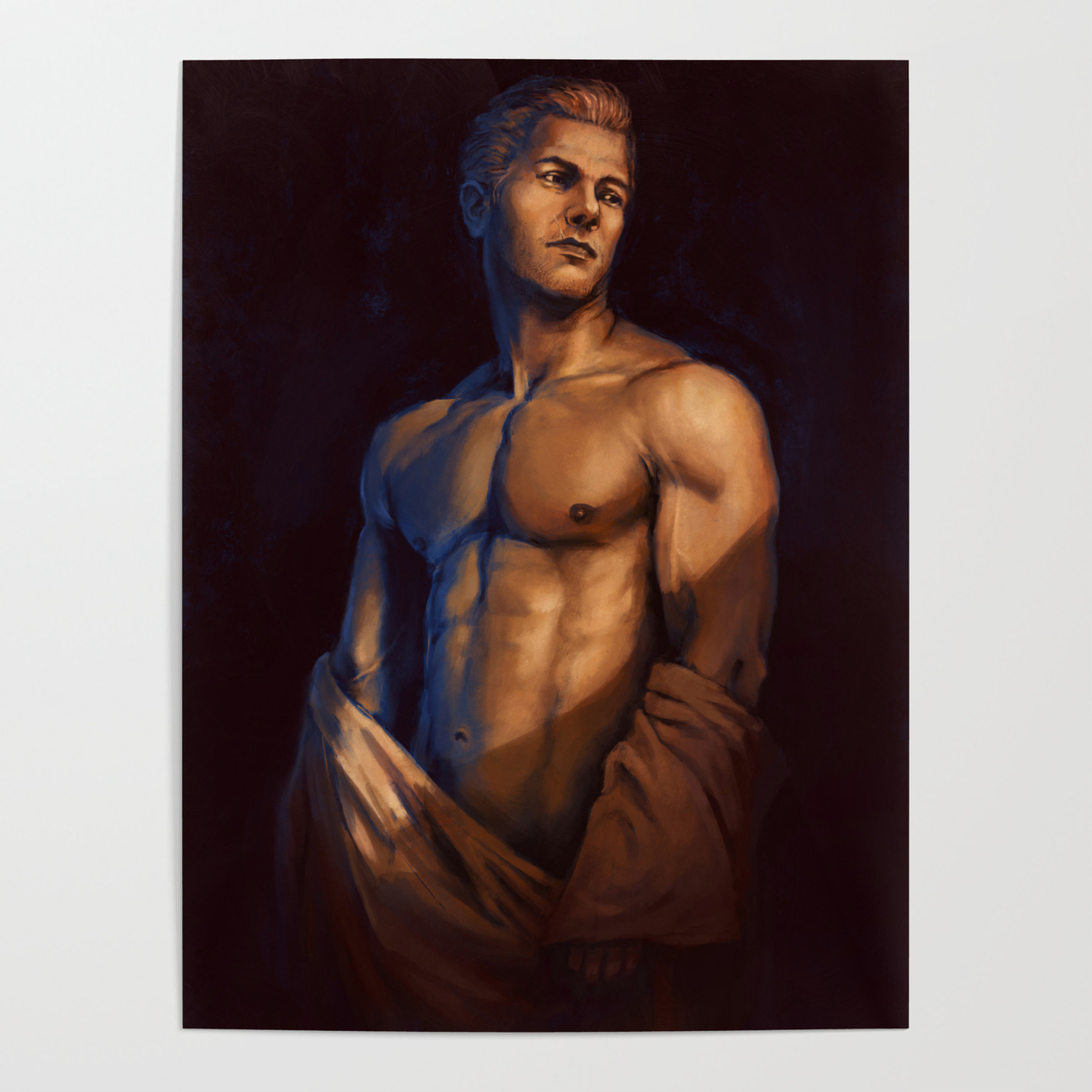 Cullen Nude Study Dragon Age Inquisition Templar Poster By Yuhime