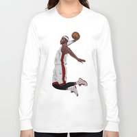 lebron Long Sleeve T-shirts featuring Lebron James by siddick49
