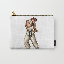 Ryu pixel art Carry-All Pouch