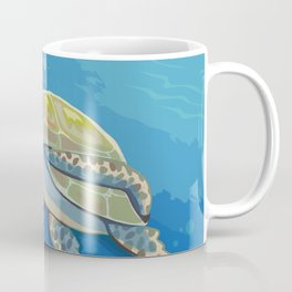 Under the Sea and Above the Coral Coffee Mug