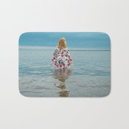 Woman in the Water Bath Mat