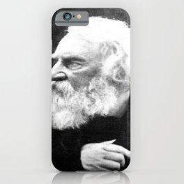 Julia Margaret Cameron - Portrait of Longfellow iPhone Case
