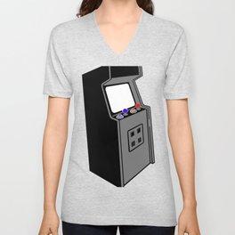 Arcade machine Unisex V-Neck