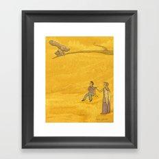 The Bird of Truth Framed Art Print