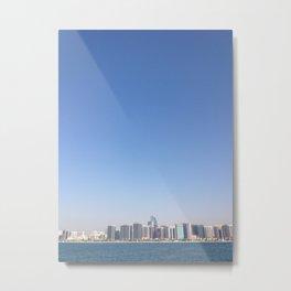 Abu Dhabi Metal Print