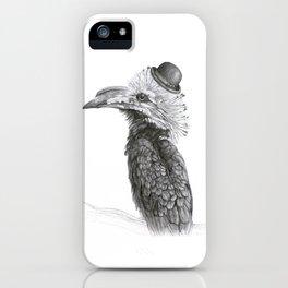 Fancy Hornbill iPhone Case