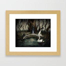 The Norns Framed Art Print
