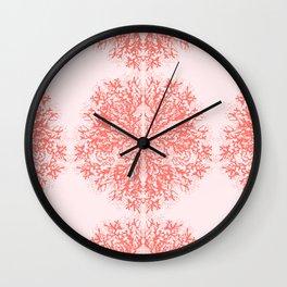 Living Corals Wall Clock