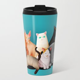 Gatos / Cats Travel Mug